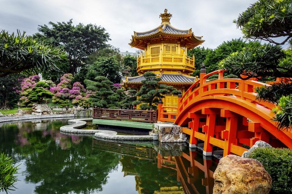 hong kong chi lin nunnery and nan lian garden - Nan Lian Garden